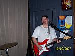 Mike on Lead Guitar
